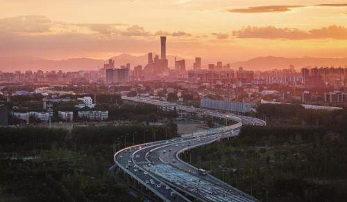 北京建筑群。图/视觉中国