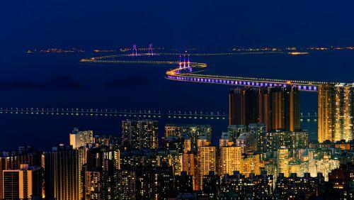 港珠澳大桥。图/视觉中国